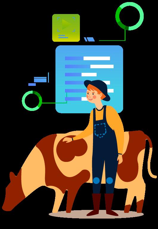 Soluciones tecnologías para profesionales, asociaciones y empresas de la ganadería la agricultura y la industria agroalimentaria